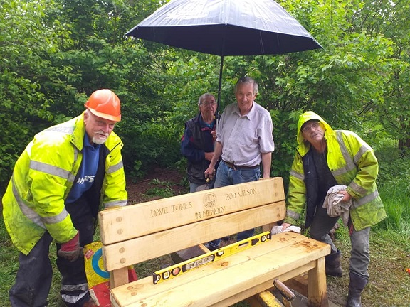 Fitting the memorial bench at Blackstone 10.5.19.jpg