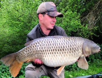 What's being caught here? 24lb 10oz Coppice carp, John Spencer 16th May 2016