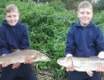 First Severn barbel and chub