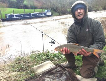 Winter Fladbury barbel