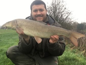 What's caught here - barbel Dec 2015