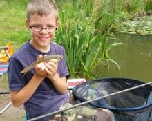 Junior introduction of angling