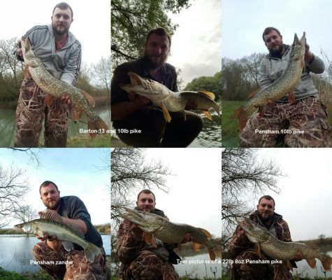 Pike season 2016-17 catch report