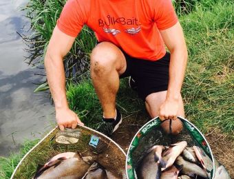 What's being caught here - Had a cracking day at Mythe 100 pound bag of bream, roach, chub, perch and eels July 2017.  Thanks  Dan Hart