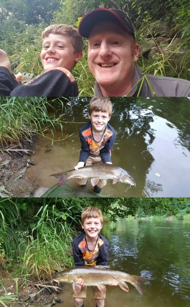 Junior river success